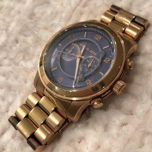 Rose Gold Oversized Michael Kors Watch